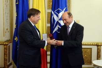 Trimisul SUA, primit de Traian Basescu la Cotroceni