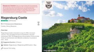 Tripadvisor a blocat recenziile la castelul printului austriac acuzat de braconaj. Val de comentatii negative din partea romanilor