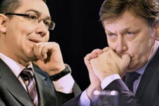 Triumful imblanzitului Ponta si tacerea perdantului Antonescu (Opinii)