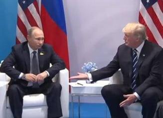 Trump: L-am presat pe Putin si a negat implicarea in alegeri. E timpul sa lucram constructiv cu Rusia