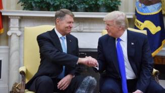 Trump: Stim tot ce se intampla in Romania. Presedintele Iohannis va castiga lupta cu coruptia (Foto & Video)