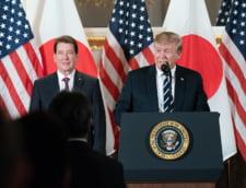 Trump, in Japonia: Joaca golf cu premierul, asista la lupte de sumo si e primul lider care se intalneste cu noul imparat