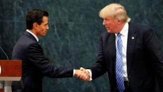 Trump, intalnire-surpriza cu presedintele Mexicului: Cine plateste pana la urma zidul de la granita?