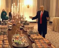 Trump a dat ordin ca pizza, hamburgerii si cartofii prajiti sa fie din nou in meniurile scolilor din SUA
