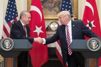 Trump ameninta ca va distruge economia Turciei, daca Erdogan merge prea departe cu ofensiva din Siria