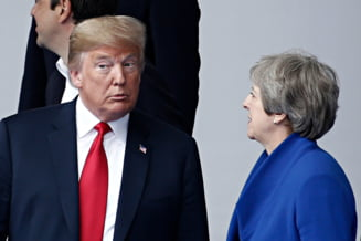 Trump critica planul Theresei May privind Brexit, iar acordul comercial SUA - UK e in pericol. Cum raspunde Londra