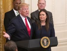 """Trump i-a spus unei foste purtatoare de cuvant la Casa Alba """"sa se sacrifice pentru echipa"""" dupa ce Kim Jong-un i-a facut cu ochiul"""