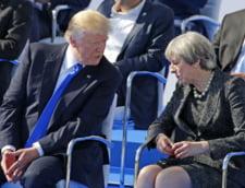 Trump i-ar fi pus conditii Theresei May: Nu va veni la Londra fara garantia ca va fi bine primit