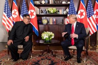 """Trump ii multumeste lui Kim Jong-un pentru """"sustinerea neclintita"""" pe care i-o arata"""