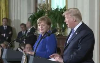 Trump ii spune lui Merkel ca apararea NATO e pe bani: Celelalte tari ar trebui sa plateasca mai mult