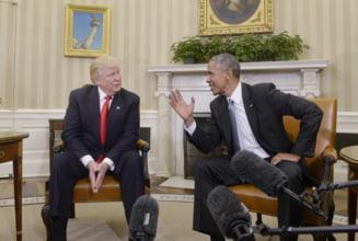 Trump il acuza pe Obama ca l-a interceptat: Groaznic! Un tip rau sau bolnav!