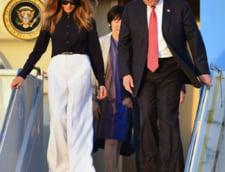 Trump incepe primul sau turneu international important, in speranta ca va linisti furtuna de la Washington