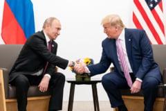 """Trump isi recunoaste aprecierea fata de Putin: """"Sunt un mare fan al tau"""""""
