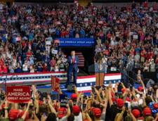 """Trump isi reia campania electorala cu un nou miting """"Make America Great Again"""" in aer liber, la Portsmouth"""