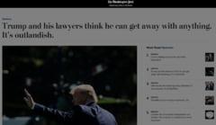 Trump saboteaza cele mai mari doua cotidiene americane: Toate agentiile sa renunte la ele!