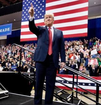 """Trump se declara """"mandru"""" de votul pentru judecatorul Brett Kavanaugh: Protestatarii sunt """"platiti de Soros"""""""