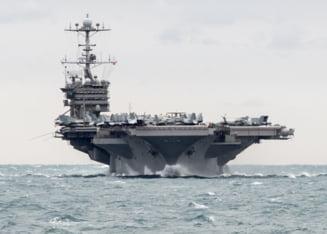 Trump se pregateste de atac: Un grup naval condus de portavionul USS Harry S. Truman se indreapta spre Marea Mediterana