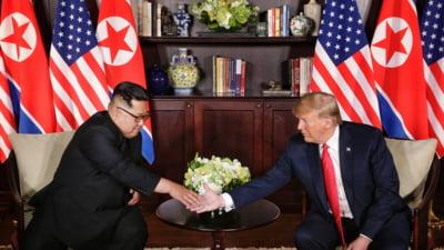 Trump si Kim Jong Un au stat fata in fata: O intalnire cu adevarat istorica sau doar o chestiune de imagine?