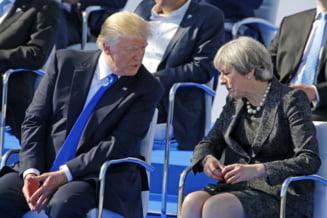 Trump si May au vorbit despre destructurarea retelelor de spionaj ale rusilor din SUA si Marea Britanie