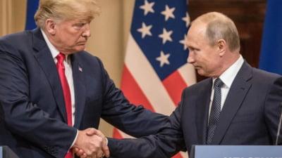 Trump si Putin cauta mijloace pentru a invinge pandemia COVID-19 si pentru a redeschide economia mondiala