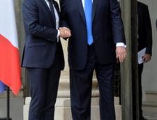 Trump si-a incheiat vizita de Ziua Frantei la Paris. Iata cele mai importante momente in imagini graitoare