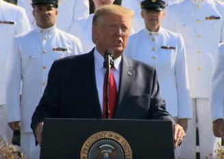 Trump si-a laudat, la comemorarea 9/11, masurile impotriva talibanilor: Am lovit inamicul mai tare ca oricand (Video)