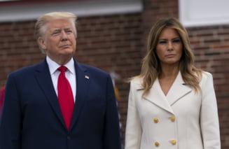 Trump si sotia sa, infectati cu noul coronavirus. Mesajul presedintelui SUA