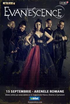 Trupa Evanescence va concerta in Romania. Iata cand, unde si cat costa biletele