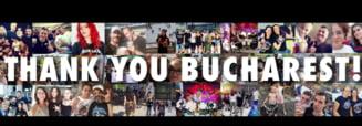Trupa Metallica a postat un videoclip despre experienta traita in Capitala: Multumim, Bucuresti!