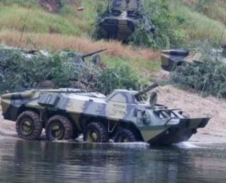 Trupe ruse si separatiste fac exercitii antitero in Transnistria a doua oara in august