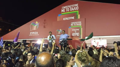 Tsipras anunta refacerea guvernului de coalitie cu dreapta suveranista
