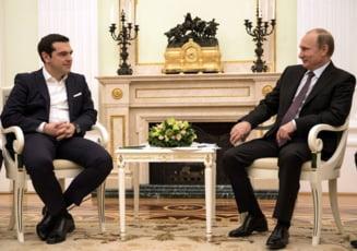 Tsipras i-a dezamagit si pe rusi. Putin nu i-a oferit nimic concret