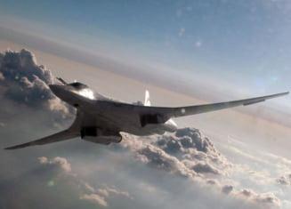 """Tu-160, bombardierul cu care ne ameninta Rogozin: Cat de periculoasa e de fapt """"bijuteria"""" rusilor"""