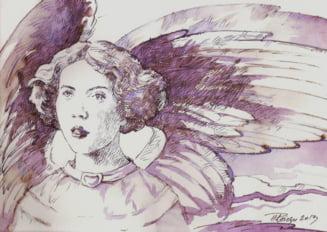 Tudor Plaiesu, artistul care picteaza dumnezeieste cu vin (Galerie foto) - Interviu