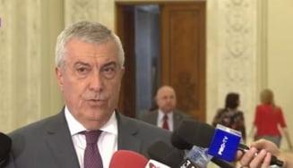 "Tudose, Dragnea si Tariceanu au discutat cu Iohannis despre chestiuni ""de interes national"""