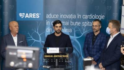 Tulcea, printre județele cu angiograf: ARES, liderul cardiologiei intervenționale din România a lansat un centru de cardiologie intervențională în Spitalul Județean de Urgență Tulcea