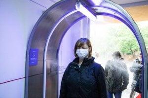 Tunel dezinfectant si materiale de protectie donate Centrului de Transfuzie Sanguina de catre Consiliul Judetean