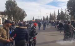 Tunisia, in pragul unei revolutii dupa ce un jurnalist si-a dat foc ca sa atraga atentia asupra saraciei