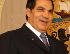 Tunisia cere extradarea fostului presedinte Zine Ben Ali