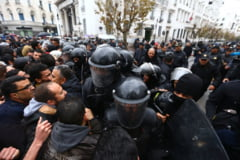 Tunisia marcheaza 7 ani de la Revolutia Iasomiei, care a dat startul Primaverii Arabe