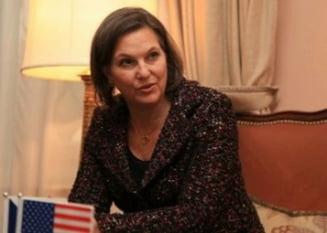 Tur de forta pentru Victoria Nuland la Bucuresti: programul intalnirilor
