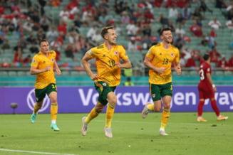 Turcia este aproape eliminata de la EURO 2020 dupa infrangerea cu Tara Galilor. Vedeta Gareth Bale a ratat un penalty
