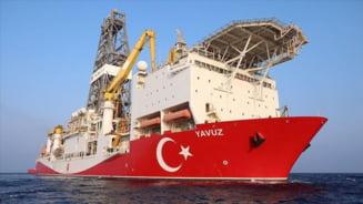 Turcia extinde pana la jumatatea lunii octombrie operatiunile de foraj in estul Mediteranei