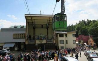 Turisti blocati in telecabina la Busteni din cauza unei avarii la reteaua electrica