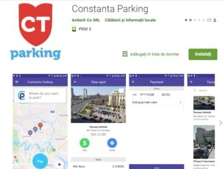 Turistii din Mamaia si Constanta isi vor putea plati parcarea printr-o aplicatie pe telefonul mobil