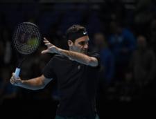 Turneul Campionilor: Roger Federer incepe competitia cu o victorie convingatoare