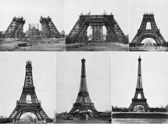 Turnul Eiffel, realizat cu tehnologie romaneasca