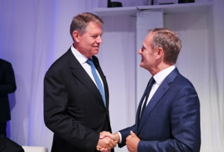 Tusk, Iohannis, Dragnea - A te holba la sarpe nu tine loc de politica externa