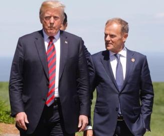 Tusk se teme de ''emotiile anti-europene'' si il acuza pe Trump ca este impotriva unei ''Europe unite si puternice''