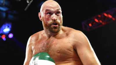 Tyson Fury, plin de sange, castiga un meci dificil intr-o lupta disputata in Las Vegas (Video)